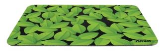 Trust Eco-friendly fekete-zöld mintás egérpad (21052)