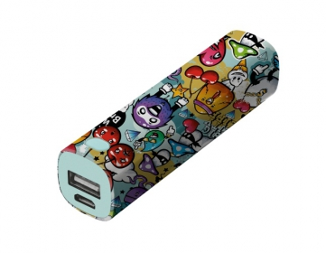 Trust Tag PowerStick Portable Charger 2600 mintás PowerBank (20866)