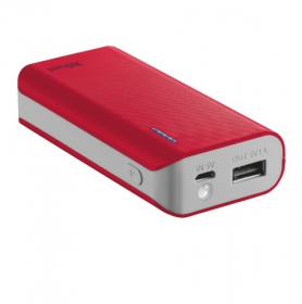 Trust Primo 4400 Portable Charger piros PowerBank (21226)