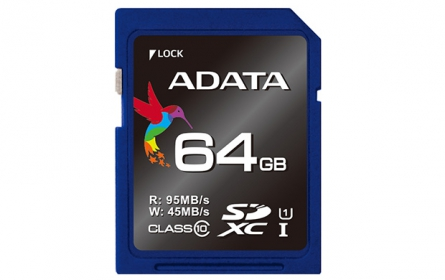 ADATA SDXC UHS-I U3 64GB Memória kártya (ASDX64GUI3CL10-R)
