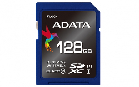ADATA SDXC UHS-I U3  128GB memóriakártya (ASDX128GUI3CL10-R)