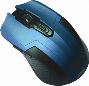 Silverline RF107 wireless optikai kék-fekete egér (RF107BL)