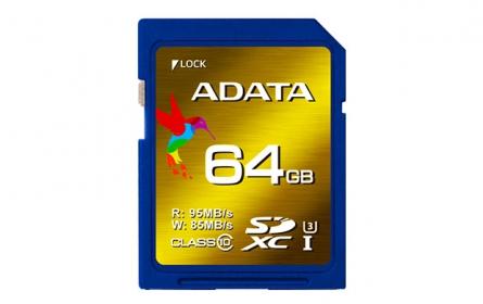 ADATA XPG SDXC UHS-I U3 64GB   memóriakártya (ASDX64GXUI3CL10-R)