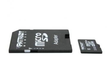 PATRIOT Micro SDHC 32GB + Adapter (PSF32GMCSDHC10)