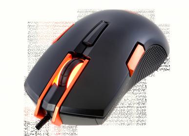 COUGAR 250M USB optikai fekete-narancs gamer egér (250M - BLACK)