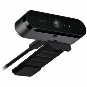 LOGITECH HD Webcam BRIO 4k fekete mikrofonos webkamera (960-001106)