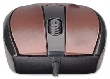 Manhattan MO1 Mini USB optikai borszínű egér (177979)