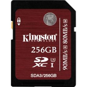 Kingston SDXC 256GB UHS-I U3 memória kártya (SDA3/256GB)