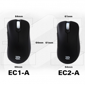 ZOWIE EC1-A USB optikai fekete egér
