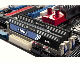 Corsair XMS3 2x2GB,1600MHz DDR3 (CMX4GX3M2A1600C9)