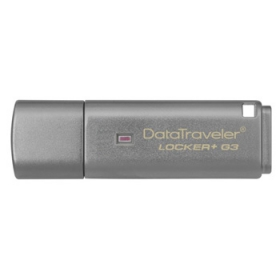 KINGSTON DataTraveler Locker pendrive+ G3 8GB USB 3.0 Ezüst (DTLPG3/8GB)