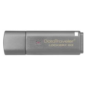KINGSTON Pendrive 64GB, DT Locker+ G3 Ezüst (DTLPG3/64GB)