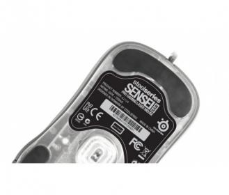 STEELSERIES Sensei RAW Rubberized USB lézer fekete gamer egér (STS/SENSEI/RAW/RUB)
