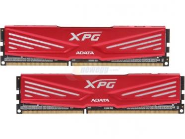 ADATA DDR3 XPG V1, 8GB (2x4GB) 1866MHz CL10 1.5V Piros (AX3U1866W4G10-DR)