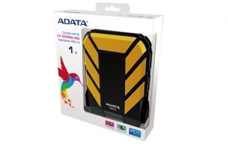ADATA HD710 1TB külső merevlemez Sárga (AHD710-1TU3-CYL)