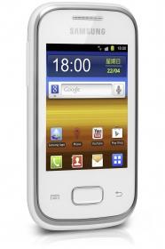 Samsung GT-S5300 Galaxy Pocket Fehér Mobiltelefon