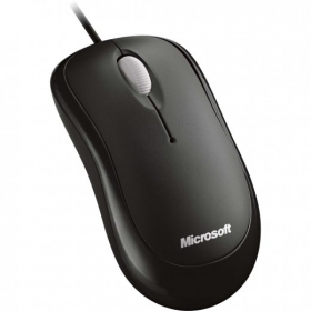 Microsoft Basic USB optikai fekete egér (P58-00057)
