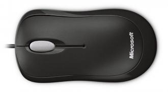 Microsoft 4YH-00007 USB/PS/2 optikai fekete egér