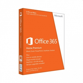 Microsoft Office 365 Home Premium 32/64bit Eng.