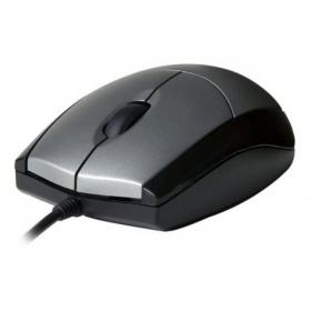 V7 MV3010010 USB optikai ezüst-fekete egér (MV3010010-SIL-5EB)