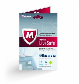 McAfee LiveSafe biztonsági szoftver