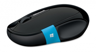 Microsoft Sculpt bluetooth BlueTrack fekete-kék egér (H3S-00001)