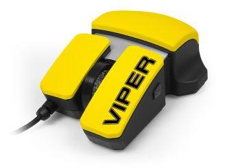 Media-Tech VIPER USB optikai sárga-fekete gamer egér (MT1101)