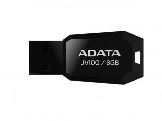 ADATA UV100 8 GB USB 2.0 fekete pendrive (AUV100-8G-RBK)