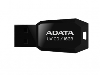 ADATA UV100 16 GB USB 2.0 pendrive (AUV100-16G-RBK)