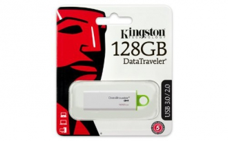 Kingston DTIG4 128 GB USB 3.0 zöld-fehér pendrive (DTIG4/128GB)