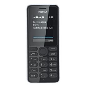 Nokia 108 Dual SIM fehér mobiltelefon (A00015063)