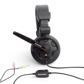 Lenovo P950 mikrofonos fejhallgató,fekete (888-011246)