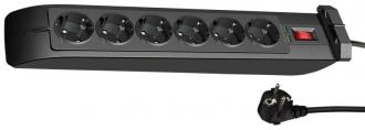 V7 SA0602B-8E5 Hálózati Túlfeszültség-Védő 6 Aljzat 2m