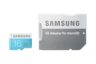 Samsung 16GB Class6 MicroSD + Adapter (MB-MS16DA/EU)