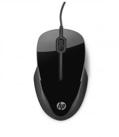 HP X1500 USB optikai fekete egér (H4K66AA)