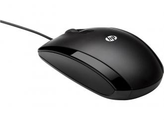 HP X500 USB optikai fekete egér (E5E76AA)
