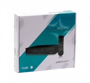 Alcor Wizard Android Conax DVB-T box