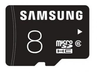 Samsung Standard 8 GB MicroSD memóriakártya (MB-MA08D/EU)