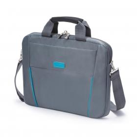 Dicota Slim Case Base 15.6'' szürke-kék notebook táska (D30998)