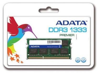 ADATA DDR3 4GB 1333MHz CL9 SODIMM 1.5V (AD3S1333C4G9-R)