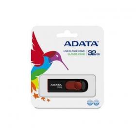 ADATA C008 32GB Pendrive (AC008-32G-RKD)Fekete-Piros