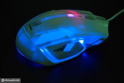 HAMA Urage Ice Dragon USB lézer fehér egér  (113711)