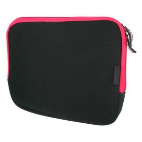 4World Neoprén Notebook tok 10.2'' Fekete-Rózsaszín (05801)