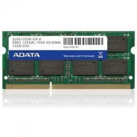 ADATA  DDR3 2GB 1333MHz CL9 SODIMM 1.5 V (AD3S1333C2G9-R)