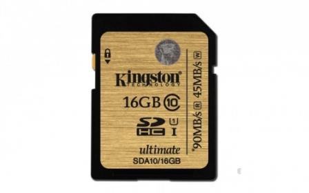 KINGSTON Memóriakártya16GB (SDA10/16GB)