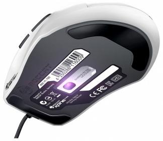 ROCCAT Kone Pure USB optikai fehér gamer egér (ROC/KON/PURE/WH)