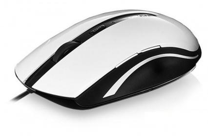 RAPOO N3600  USB optikai  fehér-fekete egér (155942)