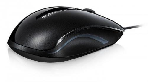 Rapoo N3600 USB optikai fekete egér (155941)