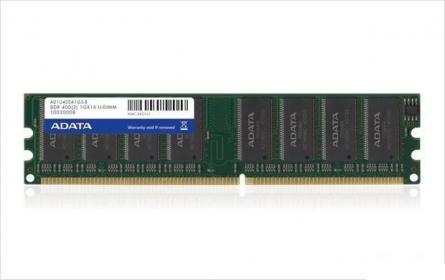 ADATA DDR 1GB, 400MHz,Non-ECC, CL3 DIMM (AD1U400A1G3-R/S)