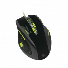 Keep Out X9PRO wireless optikai gamer fekete-zöld egér